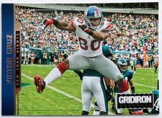 Victor Cruz - 2012 Gridiron Parallel #D 54/250 Giants #129 ++ MORE