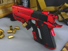 Airsoft hub is a social network that connects people with a passion for airsoft. Talk about the latest airsoft guns, tactical gear or simply share with others on this network Ninja Weapons, Weapons Guns, Airsoft Guns, Guns And Ammo, Zombie Weapons, Revolver, Mega Pokemon, Custom Guns, Weapon Concept Art