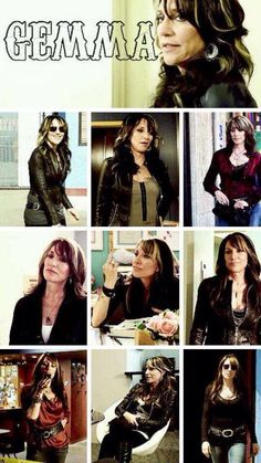 Gema Teller Morrow - Sons of Anarchy  #SonsofAnarchy #SOA #SAMCRO #RedwoodOriginal #GemmaTeller #KateySagal