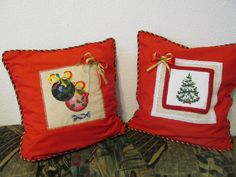 Christmas time ! Christmas Time, Cross Stitch, Throw Pillows, Bed, Crossstitch, Toss Pillows, Cushions, Punto Croce, Decor Pillows