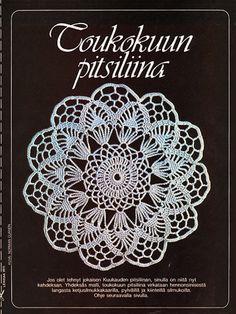 Kuukauden retro: Pitsiliina - Neulonta ja virkkaus - Suuri Käsityö