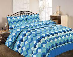 Grant Floral Duvet Quilt Cover Bedding Set | Teal — Linens Range