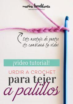 Esta técnica es perfecta para mantener un ancho específico de tu tejido, ahorrándote hacer la muestra de 10 x 10 centímetros ya que el margen de error ¡es mínimo!. Aquí te enseño paso a paso y en video de cómo urdir a crochet para tejer a palillos.