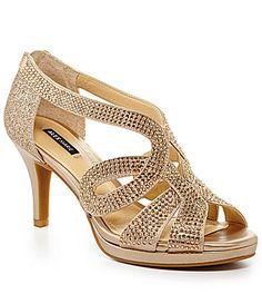 Alex Marie Dayten Beaded Dress Sandals #Dillards
