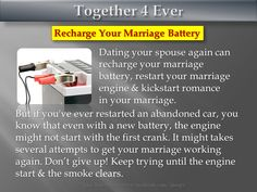 Marriage Tips to Keep You <3 Together4Ever  ~~~~~~~~~~~~~~ Visit together4ever.org Like our page on facebook.com/4keeps