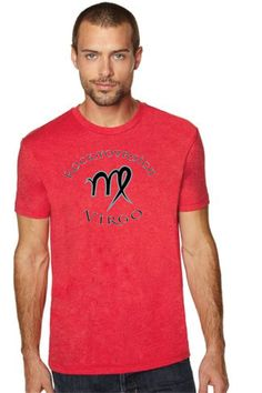 Men s Virgo Zodiac Rock Your Sign TShirt by RockYourSign Virgo Art b701657e2eb