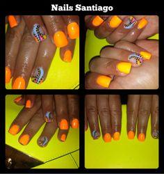 Unhas de gel de Nails Santiago http://odiariofemininoblog.blogspot.pt/