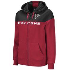 Atlanta Falcons Football Full Zip Women's Hoodie