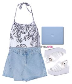 """Newchic 4.16"" by emilypondng ❤ liked on Polyvore featuring newchic"