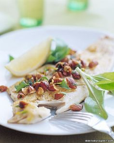 "See the ""Panfried Trout with Almonds and Parsley"" in our Trout Recipes gallery"