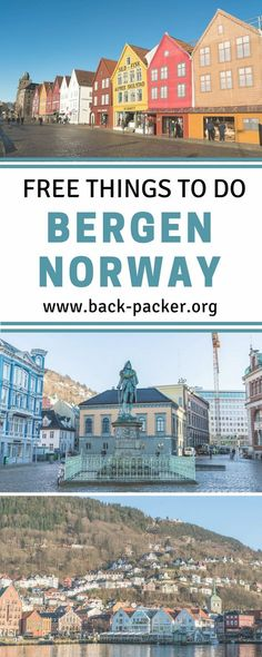 A budget travel guide to exploring Bergen, Norway. 7 of the best free things to do in the city. Budget travel in Scandinavia. | Back-Packer.org