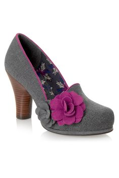 Ruby Shoo Thelma Shoes Grey