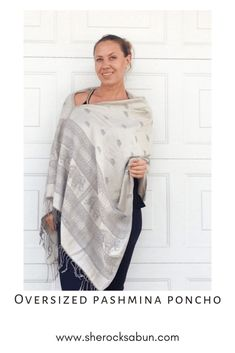 I love a good poncho - who doesn't! Feel great, look great and boost your confidence with these gorgeous and flattering accessories! Chunky Scarves, Feel Unique, How To Have Twins, Elephant Print, Things That Bounce, Looks Great, Confidence, I Am Awesome, Rocks