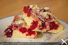 Sahne - Himbeer - Schnitten, ein sehr schönes Rezept aus der Kategorie Kuchen. Bewertungen: 110. Durchschnitt: Ø 4,5., ap