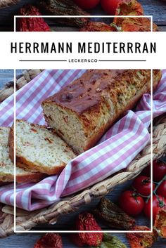 Herrmann mags deftig - mediterranes Brot aus Herrmann-Teig