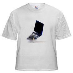 CCTV Surveillance White T-Shirt