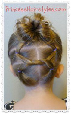 Terrific Girl Hair Dos Little Girl Hair And Little Girls On Pinterest Short Hairstyles Gunalazisus