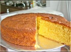 "Cake Boss Sponge Cake Recipe. This makes 2 thick 8"" rounds. Better than store bought."