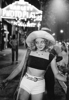 Jodie Foster on the set of Taxi Driver