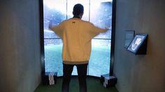 """Adidas - Interactive Stadium. """"El Latido del Campo"""". Cheil Spain pfr Adidas instore action. July 2014"""