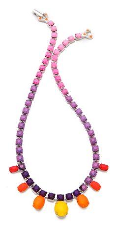 TOM BINNS Pinata Vibrant Necklace