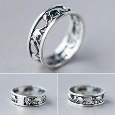 Retro Elephant ring Best Gift