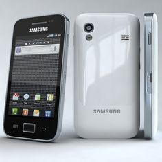 Samsung Galaxy Ace S5830 3D Model - 3D Model