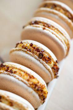Creme Brûlée Macarons - Every Nook & Cranny
