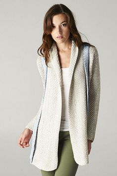 Two Tone Jean Sweater