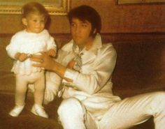 Elvis and Baby Lisa
