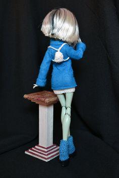 VENTE été Outfit Hiver bleu pour poupées hautes par ThreeMice