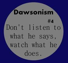 Dawsonism #4