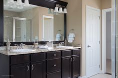 Forbes Capretto Homes Is A Custom Home Builder In Western New York Building Buffalo Amherst And Clarence Master Bathroom With Double Vanity