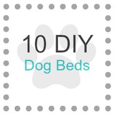10 Visually Appealing Dog Beds ~ Our pets deserve a cozy and beautiful living space too.  Try one out, your dog will thank you ♥