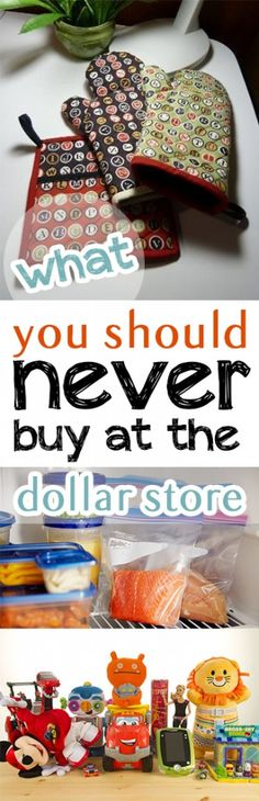 What You Should Never Buy at The Dollar Store