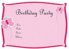 printable bday invitations