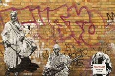 Photographs of Brick Lane in East London photo