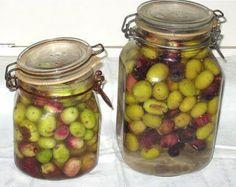 olive in salamoia da ricette marchigiane