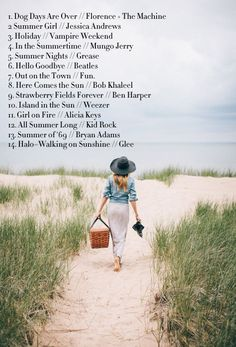 A playlist featuring Florence + The Machine, Jessica Andrews, Vampire Weekend, and others Road Trip Playlist, Summer Playlist, Summer Songs, Song Playlist, Summer Fun, Best Beach Songs, Sound Of Music, Music Is Life, Music Lyrics