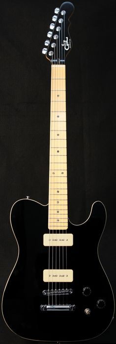 G&L Guitars ASAT® Junior II, Black over Alder