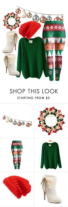 """""""#christmas #red #green #white #set #look #today #Syberia #syberia_art"""" by margosedih ❤ liked on Polyvore featuring Hinge and Jennifer Lopez"""
