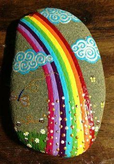 Marvelous 20 Incredible DIY Painted Rock Design Ideas http://godiygo.com/2017/11/07/20-incredible-diy-painted-rock-design-ideas/