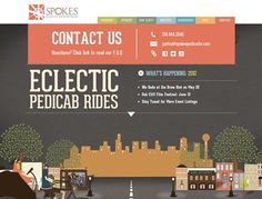 25 Beautiful Contact Pages for Inspiration
