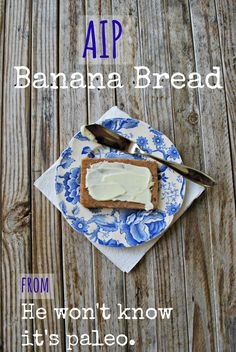 Guest Post by Bre'anna from He Won't Know It's Paleo – AIP Banana Bread | Cook It Up Paleo