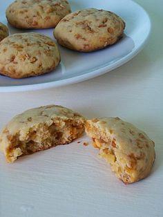 Cookies aux noisettes et cacahuètes caramélisées