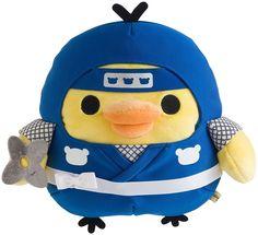 Kiiroitori Ninja Rilakkuma Plush Doll Stuffed Japan San-X F/S H240mm New! #SanX