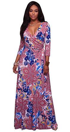 c1ea068755 2017 Long Dress Floral printing autumn Maxi Dress Plus Size Vestido hippie  boho clothing Bohemian Women Dress Beach Tunic Chic
