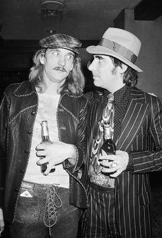 Keith Moon and Joe Walsh