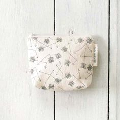 Sparrow Collective — Broken Arrow Small Cotton Pouch