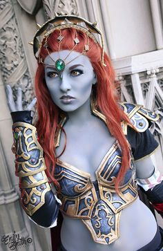 Gender swapped Dark Lord Ganondorf by Elyrenae - Saw her at Magfest, it was even more incredible in person!